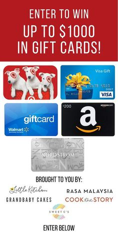200 Amazon Gift Card Giveaway And New Cookbook Announcement In 2021 Gift Card Giveaway Walmart Gift Cards New Cookbooks