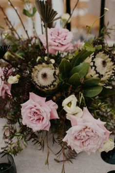 Pink roses and proteas work beautifully in this Contemporary Coastal Chic Wedding Chic Wedding, Our Wedding, Clear Marquee, Wedding Planner, Destination Wedding, Marquee Wedding, Happy Day, Pink Roses, Event Planning