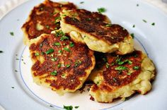 Recipe for Traditional Irish Potato Pancakes - Boxty - These traditional potato pancakes are a simple Irish dish that is so delishiously creamy on the inside and crispy goodness on the outside, always make extra mash potatoes just to have these the next day with any protein.