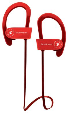 Amazon.com: Wireless Sport Bluetooth Headphones - Hd Beats Sound Quality - Sweat Proof Stable Fit In Ear Workout Earbuds - Ergonomic Running Earphones - Noise Cancelling Microphone w/ Travel Case - by Bluephonic: Cell Phones & Accessories