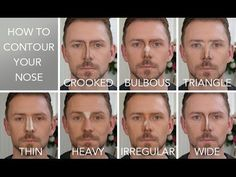 HOW TO CONTOUR THE 7 NOSE SHAPES!!!! - YouTube