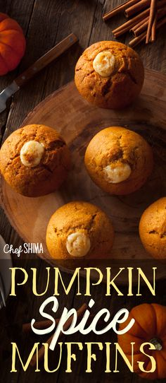 Pumpkin Spice Muffins | Might be the BEST pumpkin spice recipe ever! Pumpkin Spice Muffins, Best Pumpkin, Recipe Today, Bread, Dinner, Desserts, Recipes, Food, Dining