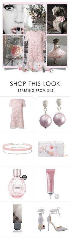 """Light Pink & Light Grey"" by hubunch ❤ liked on Polyvore featuring Dolce&Gabbana, La Perla, Miss Selfridge, Ted Baker, Viktor & Rolf, Christian Dior, Burberry, MONTSE ESTEVE and lightpinklightgreycontest"