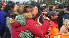 It was an emotional scene outside of the Muskrat Falls site after protesters who had been occupying the site for more than a week exited on Wednesday afternoon.