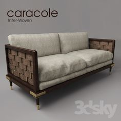 Caracole Inter-Woven sofa
