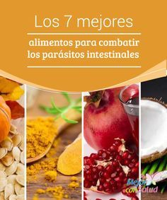 Los 7 mejores alimentos para combatir los parásitos intestinales   Las propiedades de algunos alimentos facilitan la destrucción y expulsión de los parásitos que afectan la salud intestinal. ¡Conócelos!