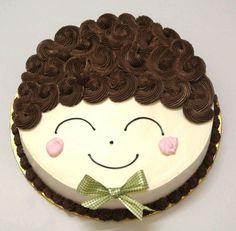 Buttercream Cake Designs, Cake Decorating Frosting, Cake Decorating Designs, Creative Cake Decorating, Cake Decorating Videos, Birthday Cake Decorating, Cake Decorating Techniques, Beautiful Birthday Cakes, Cool Birthday Cakes
