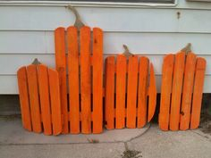 Pallet wood pumpkin, Halloween or fall decorations by CJ's Custom Anything