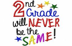 2nd Grade will Never be the Same  Machine by LilliPadGifts on Etsy, $4.50