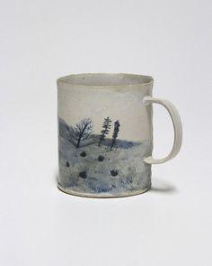 "umla: ""(via Pin by viv @ hens teeth on ::vessel:: Ceramic Tableware, Ceramic Cups, Ceramic Art, Pottery Mugs, Ceramic Pottery, Sculpture, Decorating On A Budget, Stoneware, Earthenware"
