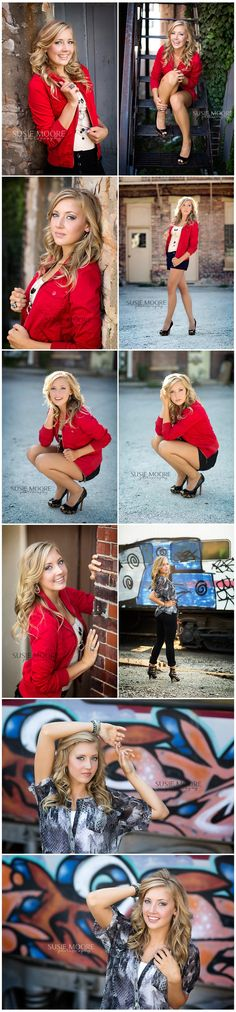 Senior Photography. I like the poses....maybe not these particular clothes