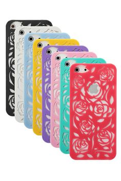 ROMWE   Hollowed Out Flowers Pattern Case Cover For iPhone 5 Random Shipment, The Latest Street Fashion