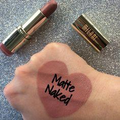 ls Milani Lipstick: Matte Naked: