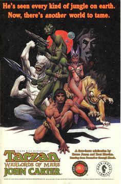Tarzan vs. Predator at the Earths Core