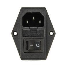 3 in 1 Fuse Power Supply Socket for  Makerbot Ultimaker