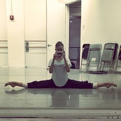 Taken today after running my variations! #ellisonballet #nyc #ballet #paquita #raymonda Also, check out @balletbabble for this amazing merde shirt, and congratulations for winning 2nd place at YAGP San Diego regionals!