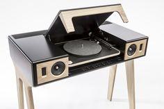 LP 160 La Boite concept and his Elipson X La Boite concept turntable