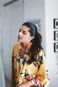 Pakistani Fashion Model Sanam Saeed