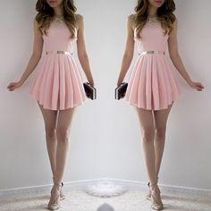 Sweet Pink dress Instagram photo by @amazing_pretty via ink361.com