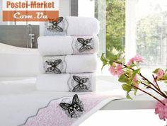 Махровое полотенце MIRA голубое IRYA купить в интернет магазине Постель Маркет (Киев, Украина )