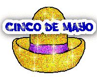 Cinco de Mayo 1 glitter hat and mouse - Click to play