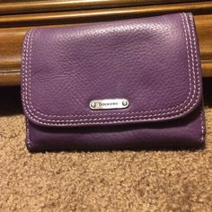 Purple Dockers Wallet Lightly used! Still in great condition!! Darker purple! Dockers Bags Wallets