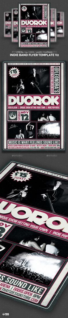 Jazz Music Event Flyer  Event Flyers Jazz Music And Flyer Template