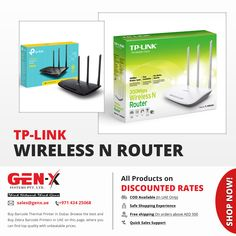 Enjoy high-speed Internet connection with Wireless N Router. Genx System brings a latest and wide range of a powerful and high-speed wireless N for home, office and small business. Buy Tp-Link router online in at affordable prices. Tp Link Switch, Tp Link Router, Fade Up, Play Game Online, Business Requirements, Thermal Printer, Speed Internet, Cable Management, Business Networking