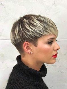 Modne Krótkie Fryzury 20182019 Modne Fryzury Hair Cuts Short
