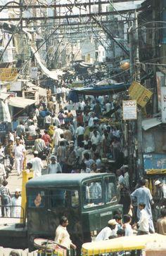 old delhi - yes this is pretty much what i picture after visiting india