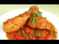 Pollo al Chilindrón - YouTube
