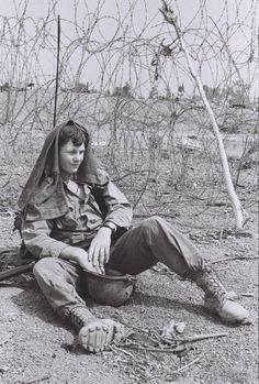 "greasegunburgers: ""  1970 US soldier of the 12th Cavalry Regiment, Vietnam """