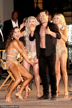 """maksylmyheart: """" The Pros from DWTS having fun between filming on location for season 22 3.15.16 """""""