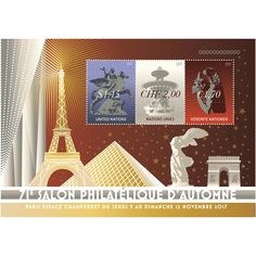 71e Salon philatélique d'automne in Paris - UN Stamps