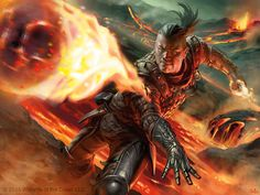 Firebolt - Shadows over Innistrad Art