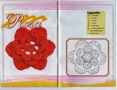 Crochet and arts: Flowers Crochet Case, Crochet Motif, Crochet Shawl, Crochet Doilies, Crochet Flowers, Crochet Stitches, Crochet Patterns, Crochet Round, Irish Crochet