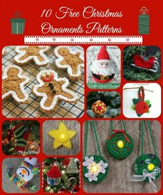 You'll treasure these gorgeous crochet ornaments! There's nothing like the handmade touch when it comes to Christmas tree decorating. Sure we can buy ornaments, even those that are uniq…