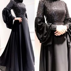 50 Ideas For Dress Brokat Satin Muslim Hijab Evening Dress, Hijab Dress Party, Hijab Style Dress, Evening Dresses, Party Dresses, Islamic Fashion, Muslim Fashion, Modest Fashion, Fashion Dresses