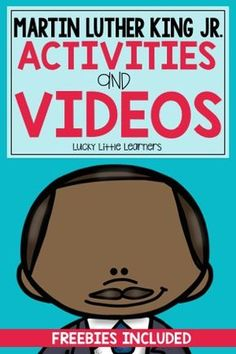 Martin Luther King Jr. Activities and Videos for 1st grade and 2nd grade classrooms. This post is awesome because it also includes freebies that are easy to implement into the classroom today!