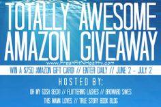 Fresh Fit N Healthy – Totally Awesome Amazon Giveaway ~ $750!!