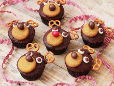 ¡Qué buena pinta tienen estos renos de chocolate! #postres #navidad