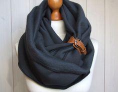 Sciarpe ad anello tinta unita - Scarf with cuff handmade by ZOJANKA - un prodotto unico di Zojanka su DaWanda