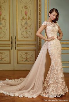 David Tutera for Mon Cheri Spring 2017 Wedding Dresses