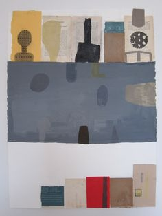 Viewing Room  2008  mixed medium collage   by Mark Goodwin