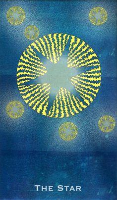 chromo tarot card deck the star