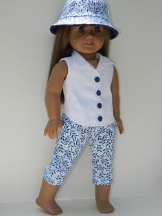 American Girl Doll Clothes  Three Piece Outfit  by 18Boutique, $30.00