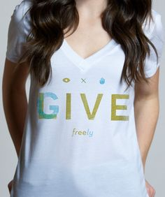 Live Free Give Freely