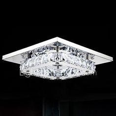 Montagem do Fluxo ,  Contemprâneo Galvanizar Característica for LED Metal Quarto Sala de Jantar Corredor de 2017 por R$155.91