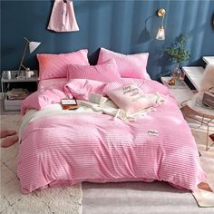 Home & Garden Home Textile Liberal Pink Leopard Round Bed Ruffle Bedding Sets Queen Superking Size 100%cotton Sweet Duvet Cover Round Bedskirt Bedding Freeshipping