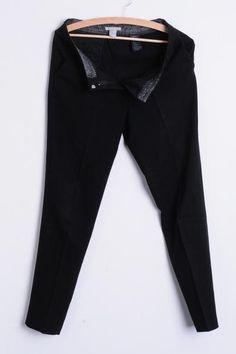 1389d28c1 H M Womens S M Elegant Trousers Classic Women s Suit Black -  RetrospectClothes Spodnie